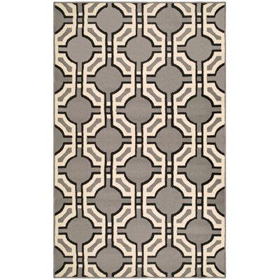 Greybirch Superior Gray Area Rug Rug Size: Rectangle  5' x 8'