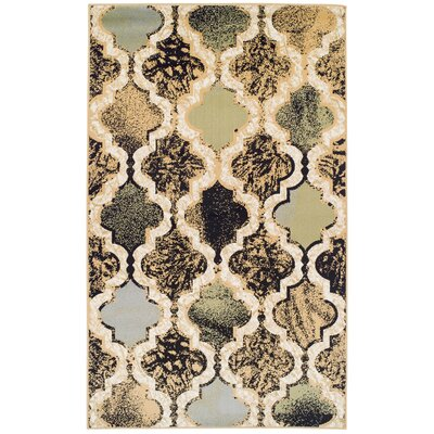 Lamoille Gray/Brown Area Rug Rug Size: Rectangle 2x3