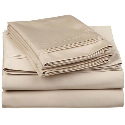 Simple Luxury 650 Thread Count Egyptian Cotton Solid Sheet Set - Color: Light Blue, Size: Split King at Sears.com