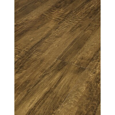 Mountain Range 6 x 48 x 3mm Luxury Vinyl Plank in Caramel Maple