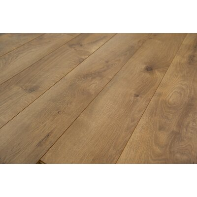 Zurich 6.12 x 47.25 x 12mm Oak Laminate Flooring in Nutmeg