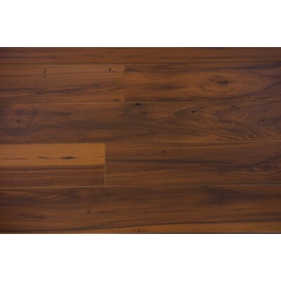 American Craft 4.87 x 47.25 x 12mm Hickory Laminate Flooring in Brown