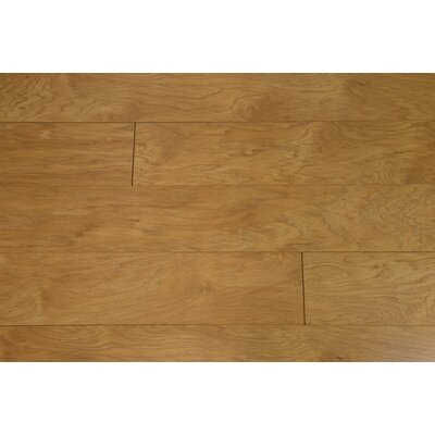 Black Forest 6 x 55 x 12mm Hickory Laminate Flooring in Brown