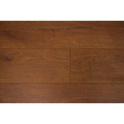 Marseille 6 x 55 x 12mm Oak Laminate Flooring in Gingerbread