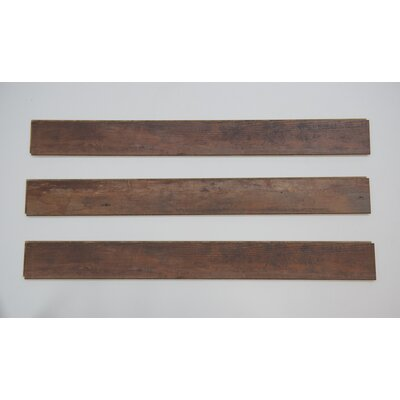Naples 4 x 48 x 12mm Oak Laminate Flooring in Dark Brown