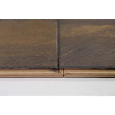 Turin 7.5 x 48 x 12mm Oak Laminate Flooring in Umber