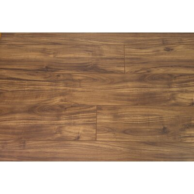 Turin 7.5 x 48 x 12mm Oak Laminate Flooring in Nutmeg