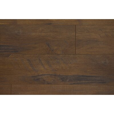 Union 3.5 x 48 x 12mm Oak Laminate Flooring in Brown