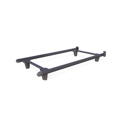Colm Bed Frame Size: 7.5 H x 39 W x 73 D, Color: Gray