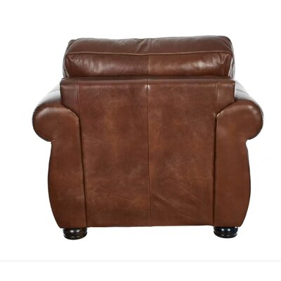 Katrine Leather 3 Piece Living Room Set