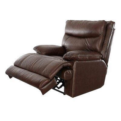 Ashlei Leather Manual Wall Hugger Recliner