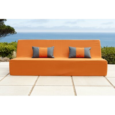 Acheson Sofa Fabric: Orange