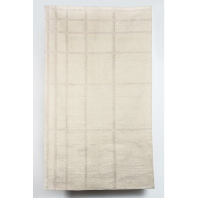 Demetrius Wool Beige Indoor/Outdoor Area Rug Rug Size: 6 x 9