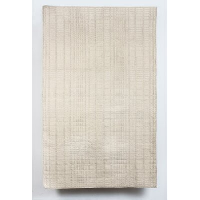 Darrius Wool Beige Indoor/Outdoor Area Rug Rug Size: 5 x 8