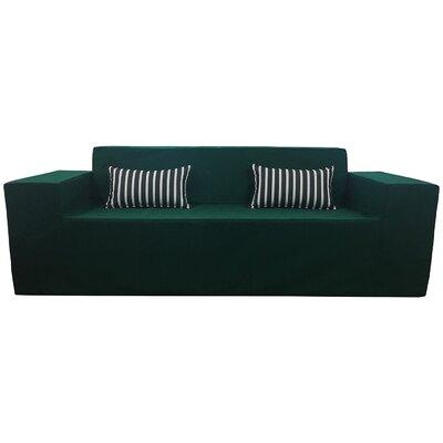 Edmiston Sofa Fabric: Green