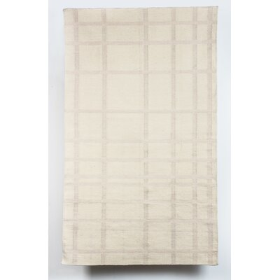 Russ Wool Beige Indoor/Outdoor Area Rug Rug Size: 5 x 8