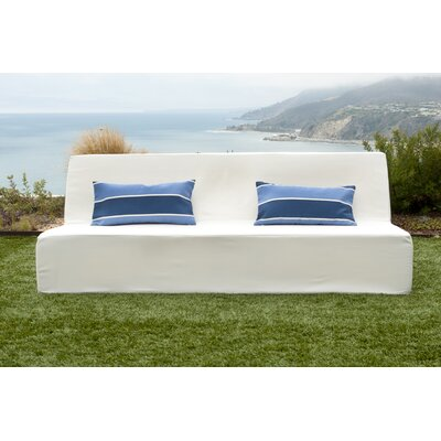 Acheson Sofa Fabric: White