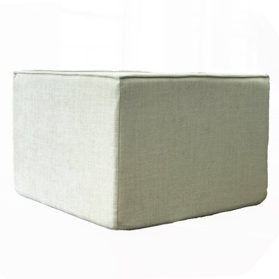 Edmiston Ottoman Fabric: Cream