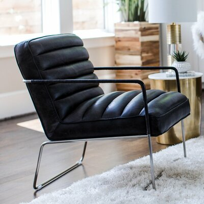 Dress Leather Lounge Chair