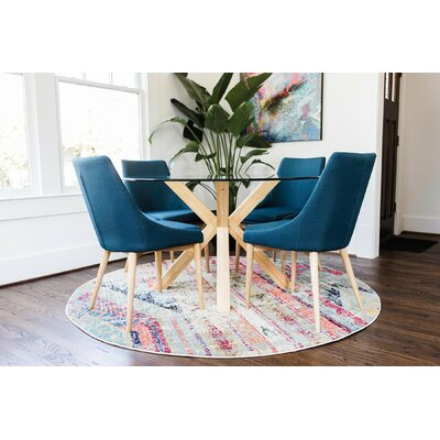 Kaylin Modern 5 Piece Breakfast Nook Dining Set