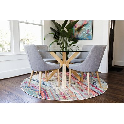 Kaylin Contemporary 5 Piece Breakfast Nook Dining Set