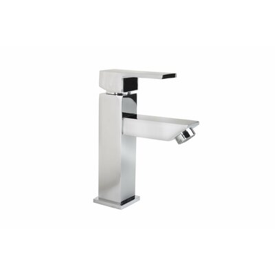 Grace Square Modern Monobloc Single Handle Bathroom Faucet