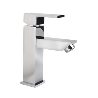 Grace Square Modern Monobloc Single Hole Single Handle Bathroom Faucet