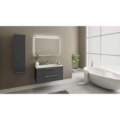 Nico 32 Single Bathroom Vanity Set Base Finish: Glossy Gray