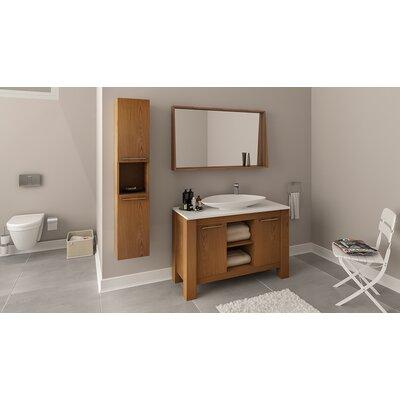 Nico 48 Single Bathroom Vanity Set Base Finish: Veneer Light Oak