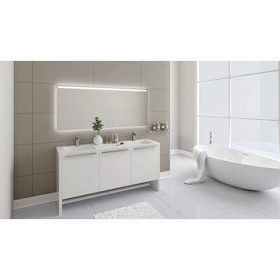 Nico 63 Double Bathroom Vanity Set