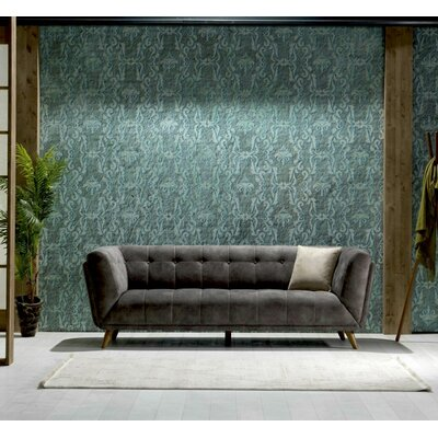 Danos 3 Seater Metal Frame Chesterfield Sofa