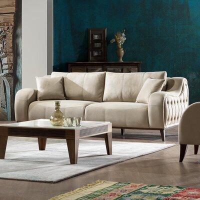 Danos Sleeper Sofa Upholstery: Beige