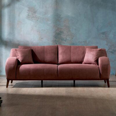 Danos Sleeper Sofa Upholstery: Dry Rose