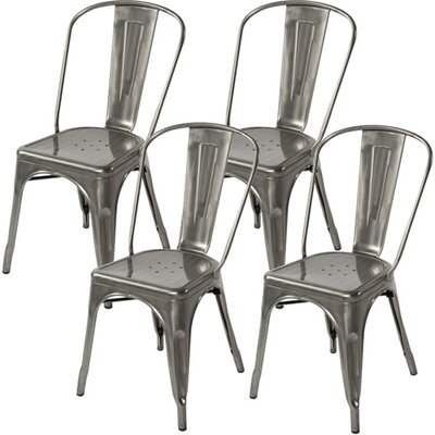 Ferraro Dining Chair Color: Gray