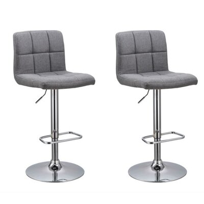 Park Ridge Bar Stool Color: Gray