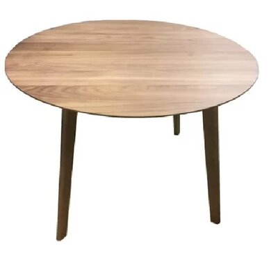 Cogan Fibreboard Dining Table Size: 43 L x 43 W