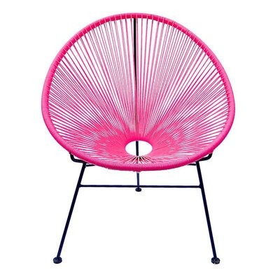 Richarson Papasan Chair Finish: Pink