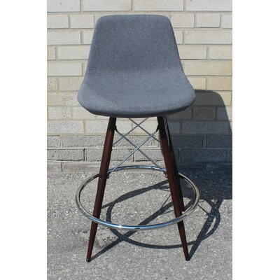 Vidrio 24 Bar Stool Color: Gray
