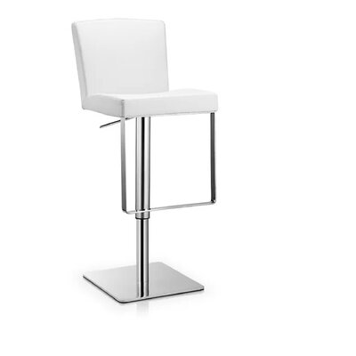 Rodger 30 Bar Stool Color: White