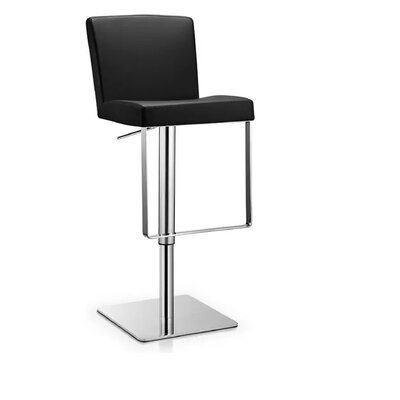 Rodger 30 Bar Stool Color: Black