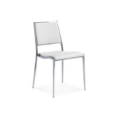 Cowger Dining Chair Upholstery Color: White