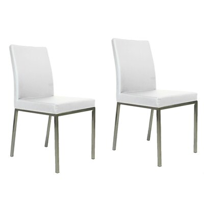 Reay Dining Chair Upholstery Color: White