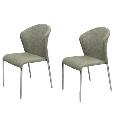 Banker Upholstered Dining Chair Upholstery Color: Beige