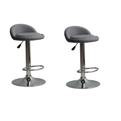 Murrell Adjustable Height Swivel Bar Stool