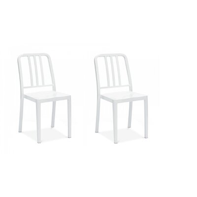 Romig Dining Chair Color: White