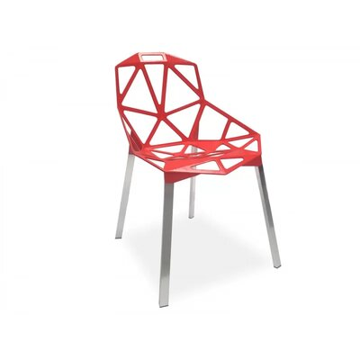 Burkholder Dining Chair Color: Red