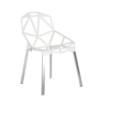 Burkholder Dining Chair Color: White
