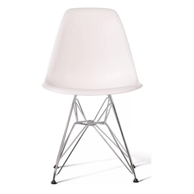 Polanco Dining Chair Color: White