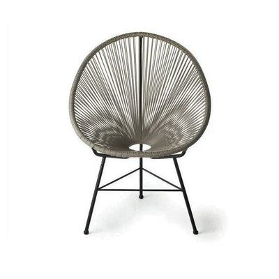 Richarson Papasan Chair Finish: Gray