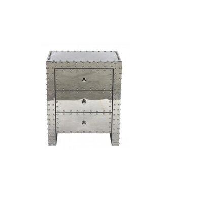 Faning 3 Drawer Night Stand
